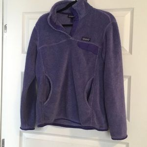 Purple Pullover from Patagonia